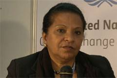 "Environment Minister Maria de Fátima Jardim of Angola""make"