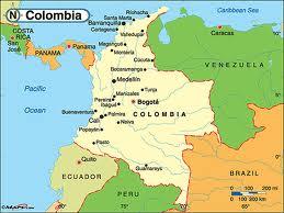 COLUMBIAS MAP